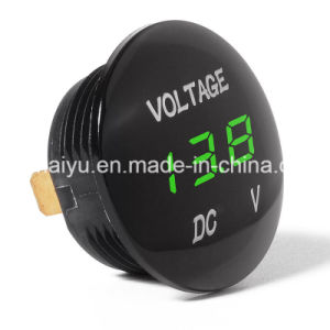 Universal Digital Display Voltmeter Waterproof Voltage Meter LED for DC 12V-24V Car Motorcycle Auto Truck pictures & photos