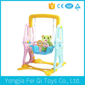 Indoor Playground Plastic Multifunctional Swing for Kids C Series pictures & photos