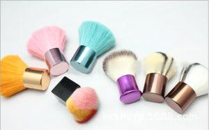 Makeup Beauty Small Heart Retractable Powder Brush Kabuki Brush pictures & photos