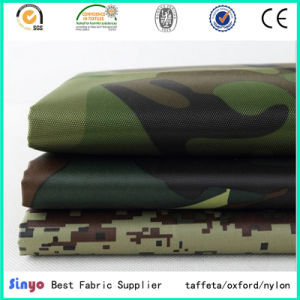Uly Coated Nylon Oxford 600d Printed Fabric for Workwear pictures & photos