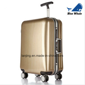 High Quality Fashion Aluminum Frame Trolley Luggage pictures & photos