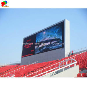 Outdoor LED Display Full Color and Waterproof P10, P12, P16, P20 LED Display Screen Front Maintain LED Panels for Sports and Stadium pictures & photos