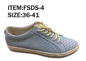 New Style Fashion Women Shoes Leather Shoes Comfortable Breathable (FSDS-3) pictures & photos