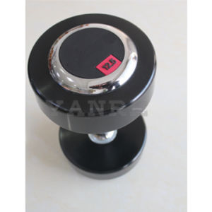 Gym Fitness Equipment Accessories Crossfit Polyurethane PU Dumbbell with Steel Cover pictures & photos