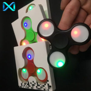 LED Fidget Spinner LED Hand Spinner Fidget Toy Fidgets Hand Spinner for Autism and Adhd pictures & photos