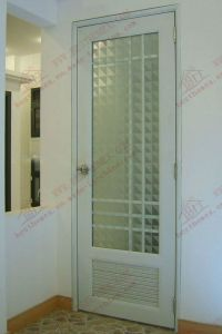 Waterproof UPVC/PVC Bathroom Door (BHP-CD06) pictures & photos