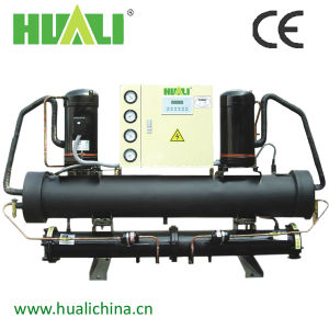 Double Compressor Open Type Water Cooled Industrial Water Chiller pictures & photos