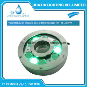 27W IP68 Waterproof LED fountain Underwater Swimming Pool Light pictures & photos
