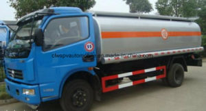 Dongfeng 7kl Refueling Tank Truck 6 Tons Fuel Tanker Truck for Sale pictures & photos