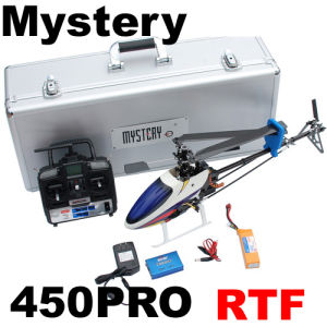 450PRO Rtf 3D 2.4G 6CH RC Helicopter Clone Align Trex (10030705)