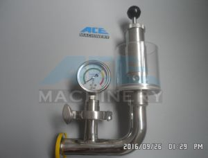 Sanitary Stainless Steel Air Pressure Relief Valve, Safety Valve for Beer Tank (ACE-AQF-KJ) pictures & photos