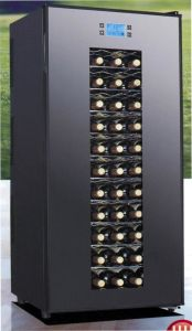 Touch-Screen Eectronic Wine Cooler/Wine Cellar/Wine Chiller (JC-180AFW) pictures & photos
