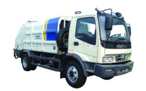 4X2 Compressive Garbage Truck pictures & photos
