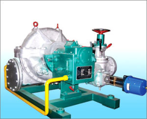 Single Stage Back Pressure Steam Turbine