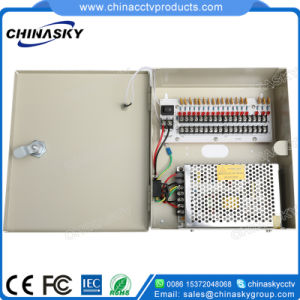 12VDC 10A CCTV Camera Power Supply Unit for Security Systems (12VDC10A18P) pictures & photos