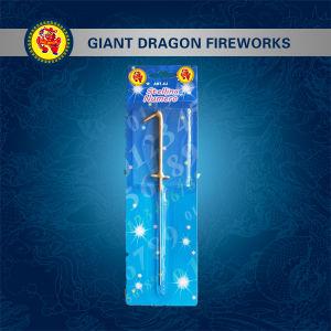 Single Blister Card Sparkler Fireworks Shaped Sparkler Fireworks pictures & photos