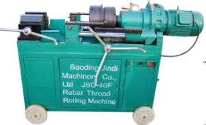 Rebar Thread Rolling Machine for Bar Splicing in Construction