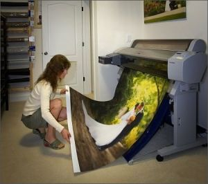 Inkjet Artist Canvas for Cotton and Polyester Material 110g~420g