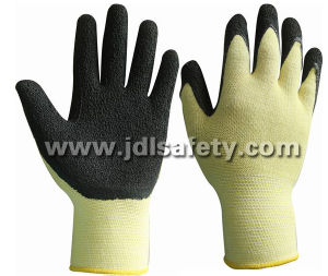 Work Glove with Natural Latex Foam Coating (LPS3021B) pictures & photos