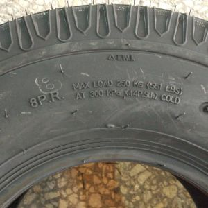 China Factory Direct, High Performance 400-8 Tricycle Tire pictures & photos