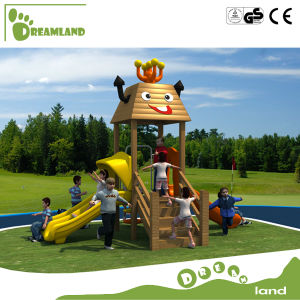 Used Commercial Wood Outdoor Playground Equipment Sale for Children pictures & photos