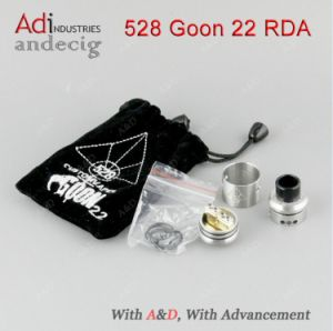 2017 New Hot Selling Atomizer Authentic 528 Goon Rda Four Colors 528 Goon 22 Rda in Stock pictures & photos