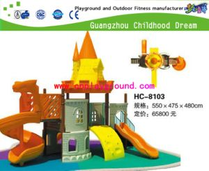 Guangzhou Amusement Park Equipment Small Castle Outdoor Playground (HD-2202) pictures & photos