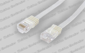 CAT6 U/UTP RJ45 Flat Cable pictures & photos