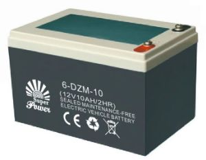 VRLA Electric Bike Battery 12V 10AH with CE UL Certificate Called SP6-DZM-10 pictures & photos