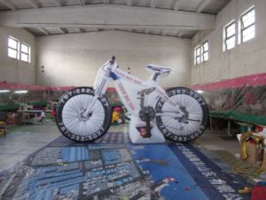 Hot Sale Inflatable Bike Model for Advertising