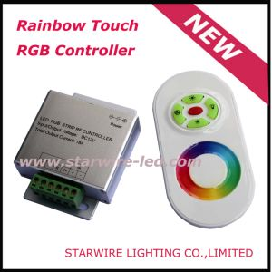 12V Rainbow Touch RGB Controller (SW-RC-T) pictures & photos