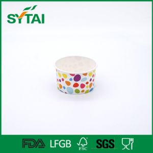 Colorful Disposable Single Wall 6oz Ice Cream Paper Cups pictures & photos