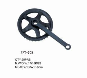Factory Price Bicycle Chainwheel Crank Bicycle Parts (PFT-708)