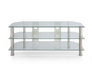 Grace Design Clear Glass TV Stand (TV103) pictures & photos