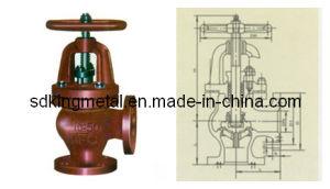 Shipbuilding Cast Iron 16k Angle Globe Valves pictures & photos