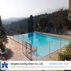 Clear Tempered/ Toughened Glass for Swimming Pool Fence pictures & photos