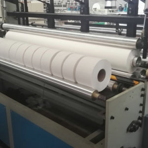Full Automatic Slitting and Rewinding Maxi Roll Toilet Paper Making Machine pictures & photos