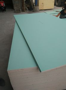 Waterproof Gypsum Board 1200*2400*12mm/Water Resistant Board for Wet Places pictures & photos
