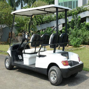 Gobal Export 4 Passengers Electric Cart for Airport Use pictures & photos