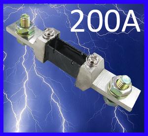 Current Shunt Resistor for AMP Panel Meter 200A 75mv DC