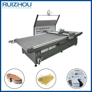 CNC Oscillating Knife Footwear Leather Cutting Machine-2 pictures & photos