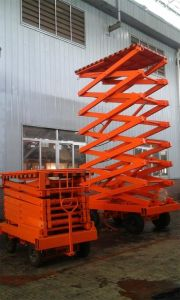 14 Meters Lift Table with Battery (DC Motor) pictures & photos
