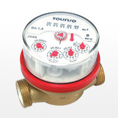 Single Jet Rotary Vane Wheel Dry-Dial Magnet-Drive Cold Water Meter