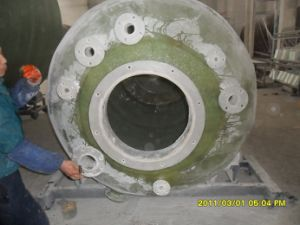 FRP Lined with PVDF Vessel