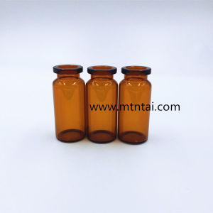 Amber Color Glass Injection Vials pictures & photos