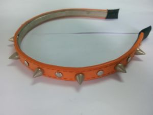 Leather Bow Spike Headband (BLH21108004) pictures & photos