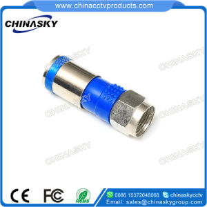 CCTV Compression F Connector for RG6 Cable (CT5065) pictures & photos
