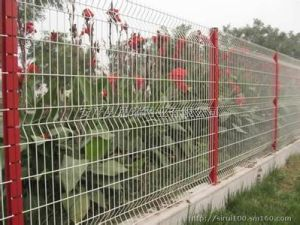Triangle Bent Type Wire Mesh Fencing pictures & photos