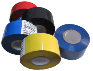 Fc3 Type Black Color 35mm*122m Colored Hot Date Coding Ribbon (SCF-900)