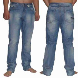 Men′s Simple Style Fashion Jeans (MF12)